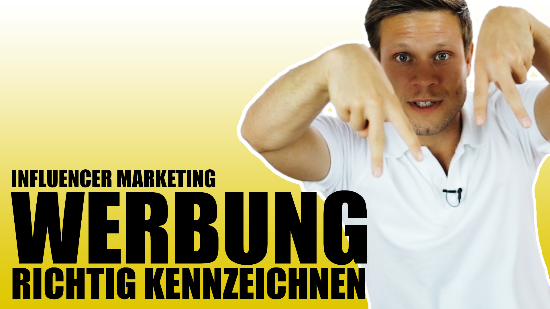 Werbung richtig kennzeichenen - Influencer Marketing - Instagram Facebook - fragdendan