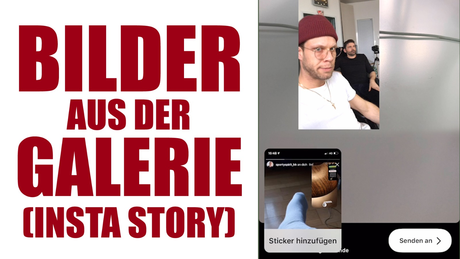 Mehrere Bilder In Instagram Story Posten 🖼